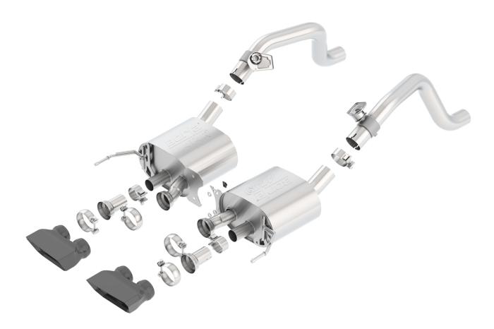 Borla ATAK Axle-Back Exhaust System
