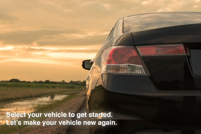 Select your vehicle on our page to find your bumper cover.