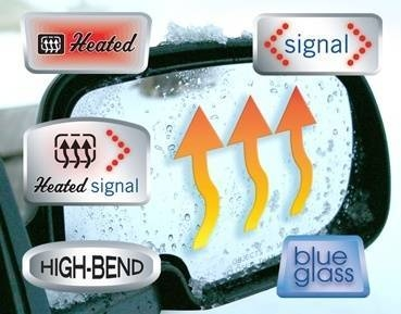 Burco Side Mirror Glass Replacements