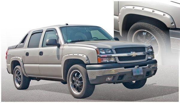 Bushwacker Chevrolet Avalanche 2500 Fender Flares