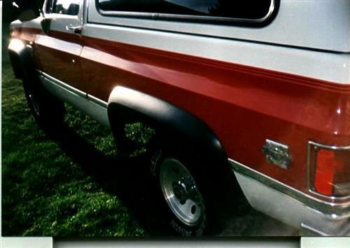 Bushwacker Chevrolet C20 Suburban Fender Flares