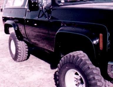 Bushwacker Chevrolet R2500 Suburban Fender Flares
