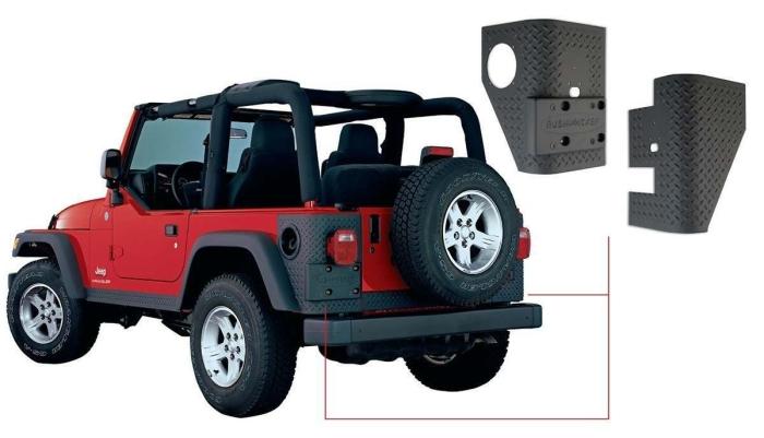 Bushwacker Trail Armor® for Jeeps