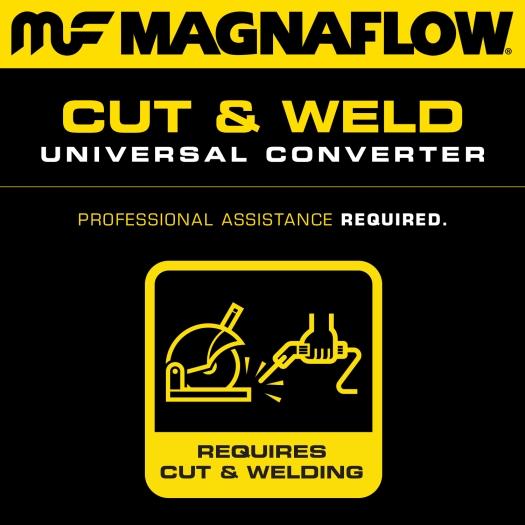 MagnaFlow 551005 Universal Catalytic Converter