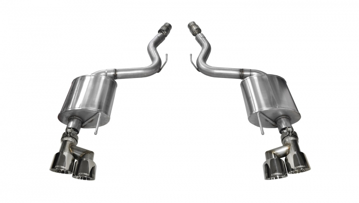 Corsa Touring Axle-Back Exhaust System
