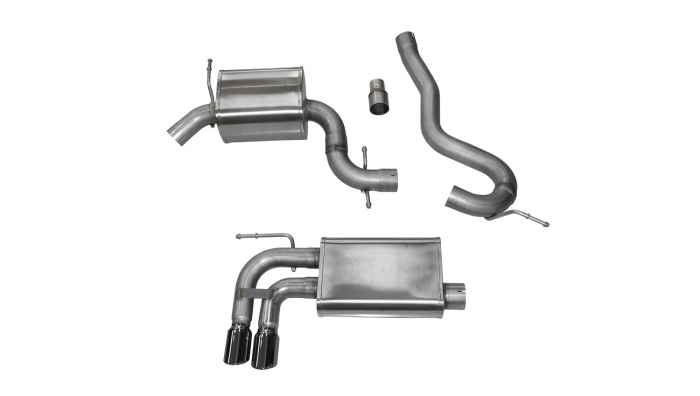 Corsa Touring Cat-Back Exhaust System