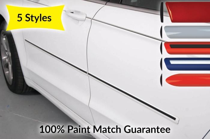 Car Door Molding Set for Chevrolet Silverado 1500