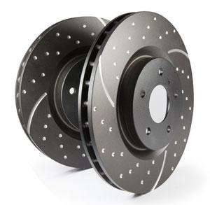 EBC Brakes 3GD Series Sport Slotted Brake Rotors