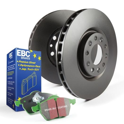 EBC Brakes S11 Greenstuff 2000 and RK Rotors Kit