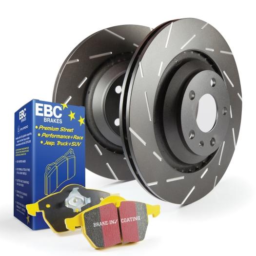 EBC Brakes S9 Yellowstuff and USR Rotors Kit