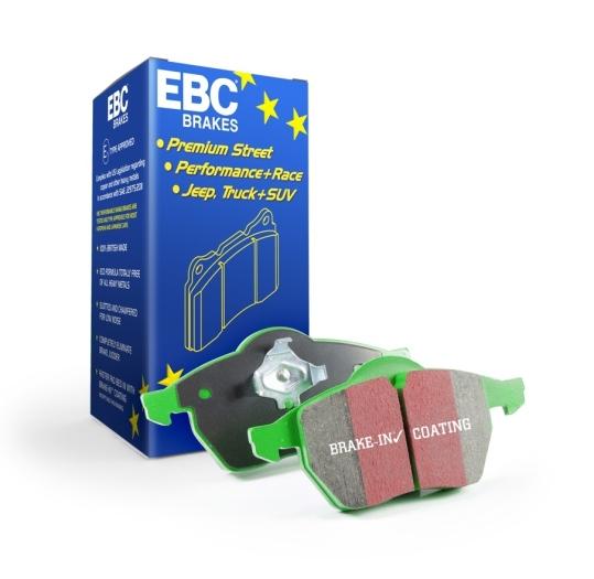 EBC Brakes 6000 Series Greenstuff Brake Pads