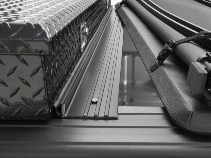 Channel design bridges the gap between your toolbox and the tonneau