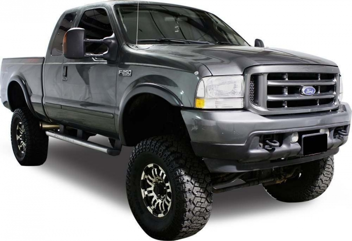 TrueEdge Street Style Fender Flares - Available Painted