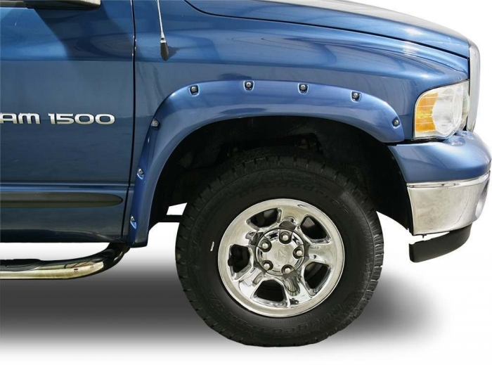 TrueEdge Pocket/Bolt Style Fender Flares - Available Painted