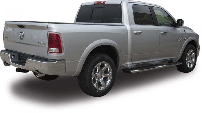 TrueEdge Sport Fender Flares for 09-15 Dodge Ram 1500 (Available Factory Painted) FLZ409204