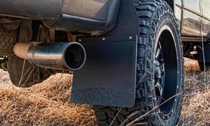 Husky Liners KickBack™ Mud Flaps for Lifted Trucks