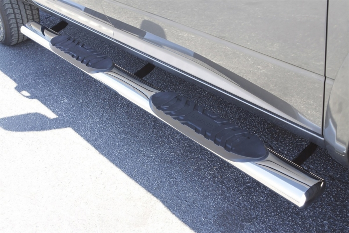 Lund 5 Inch Oval Straight Tube Step Bars
