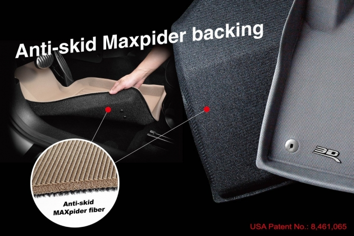 These floor liners are designed to stay in place
