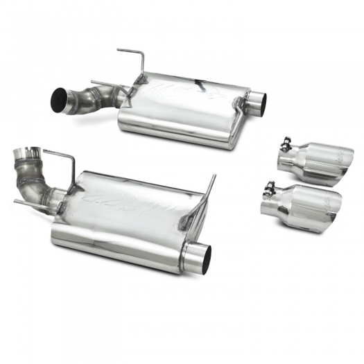 MBRP PRO Series Dual Muffler Axle-Back Exhaust System