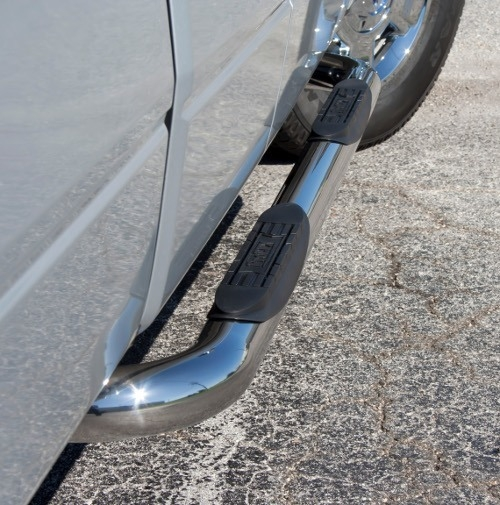 """ProEFX 3"""" Round Stainless Steel Step Bars"""