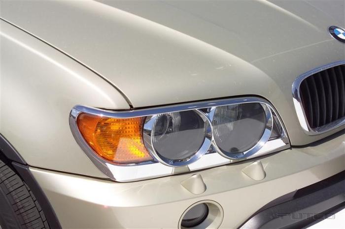 Putco Chrome Head Lamp Overlays & Rings