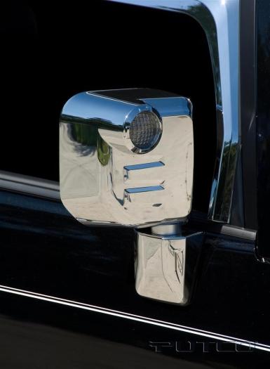 Putco Chrome Mirror Cover Set