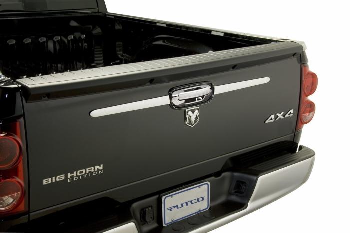 Putco Chrome Rear Accent Tailgate Trim