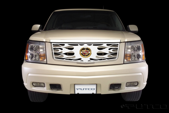 Putco Flaming Inferno Grille Inserts - Available Painted