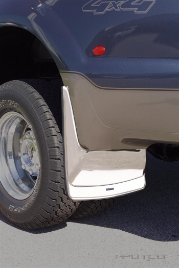 Putco Stainless Steel Form Fitted Mud Flaps