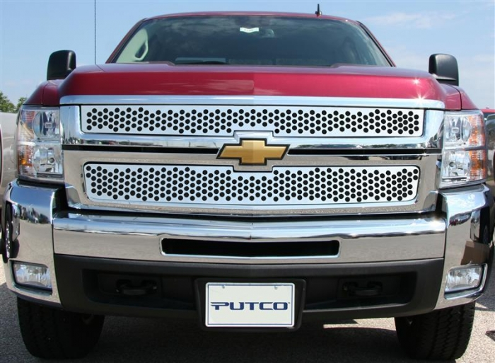 Putco Punch Stainless Steel Grille Inserts