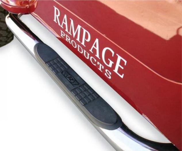 "Rampage 3"" Wheel-to-Wheel Step Bars"