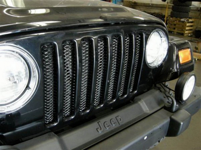Rampage Jeep Wrangler 3D Mesh Grille