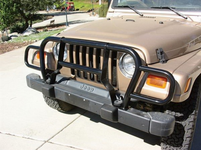Rampage Jeep Wrangler Grille Guards