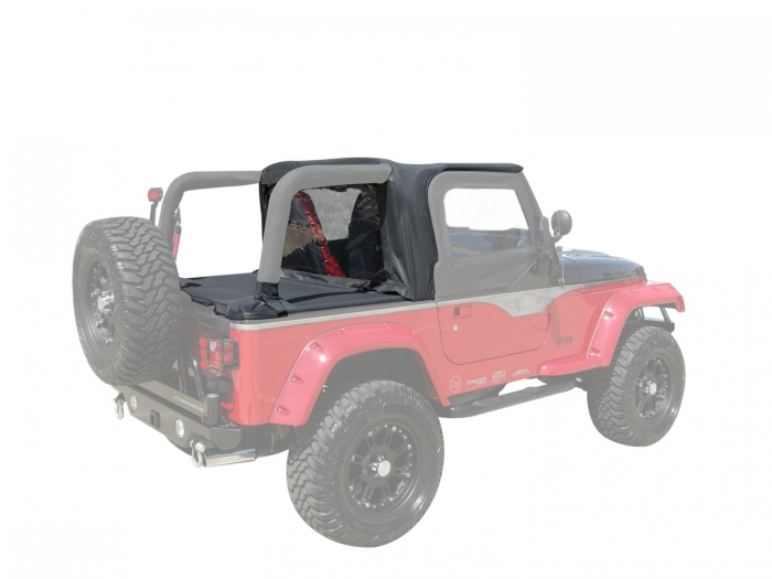 Rampage Jeep Cab Topper