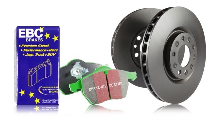 EBC Brakes S14 Greenstuff and RK Rotors Kit