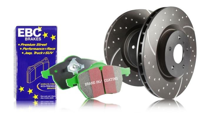 EBC Brakes S3 Greenstuff 6000 and GD Rotors Kit