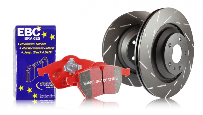 EBC Brakes S4 Redstuff and USR Rotors Kit
