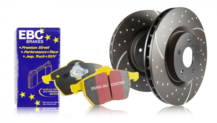 EBC Brakes S5 Kits Yellowstuff and GD Rotors Kit