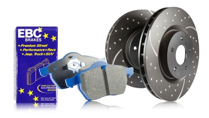 EBC Brakes S6 Bluestuff and GD Rotors Kit