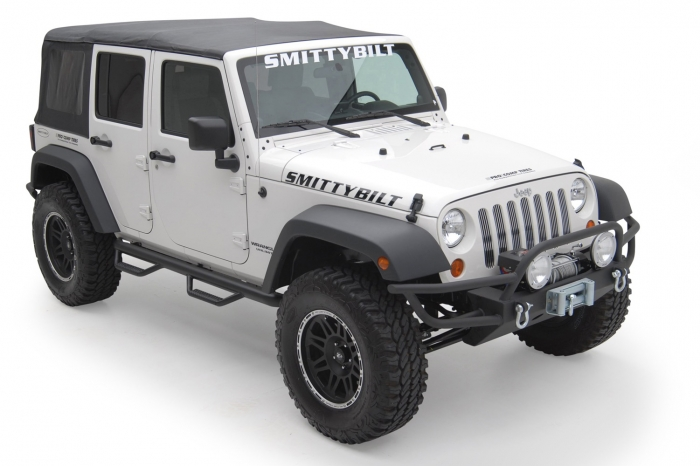 Textured black installed on a Jeep Wrangler