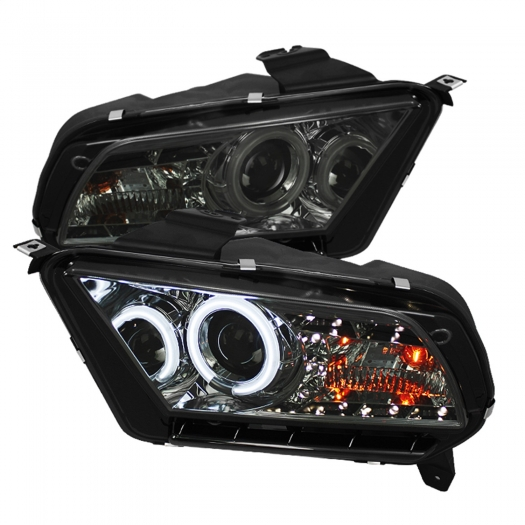Spyder CCFL DRL LED Projector Headlights