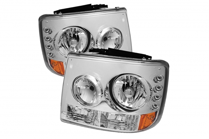 Spyder Crystal Headlights