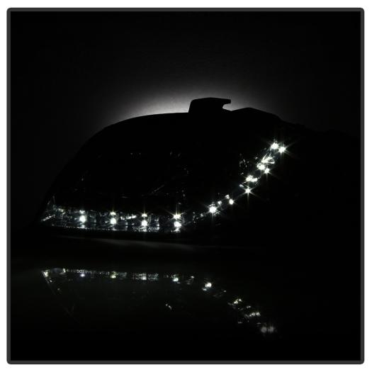 Spyder DRL LED Projector Headlights