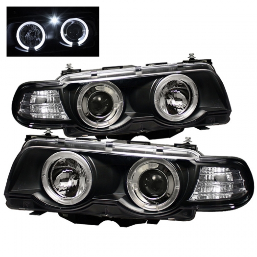 Spyder Halo Amber Projector Headlights