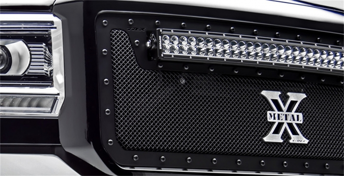 T-Rex Stealth Metal Bumper Grille Overlay