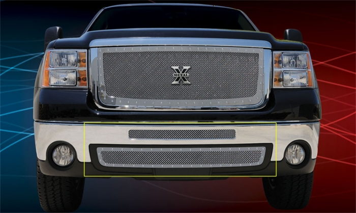 T-Rex X-Metal Series Studded Bumper Grille Insert