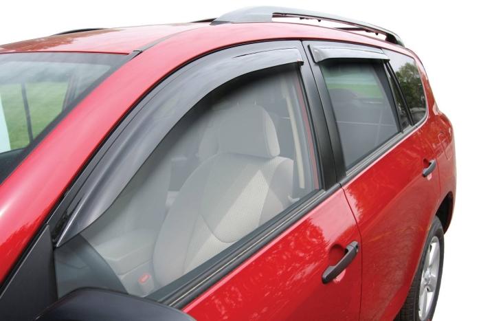 Wade Side Window Deflectors - Slim & In-Channel