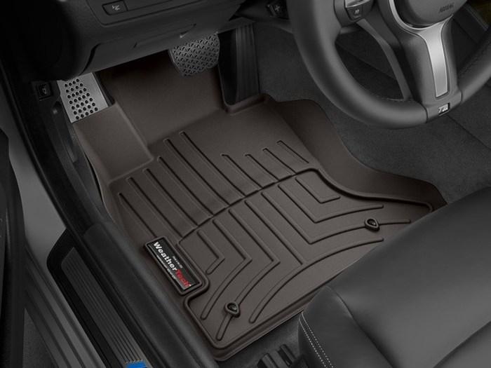 WeatherTech BMW 535i xDrive Floor Mats
