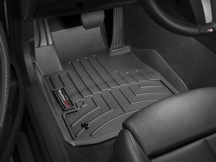 WeatherTech BMW M4 Floor Mats