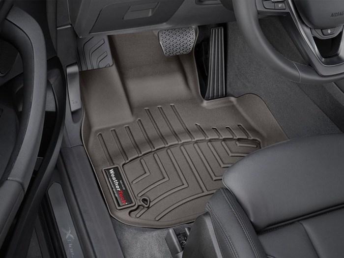 WeatherTech BMW X3 Floor Mats